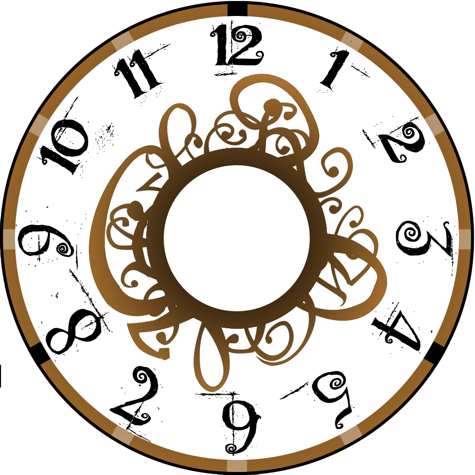 Steampunk clipart clock face. Images free download best
