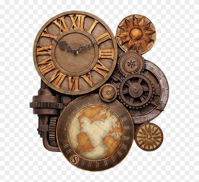 Steampunk clipart clockwork gear. Kisspng fashion gears