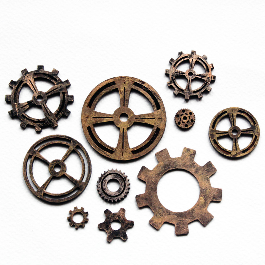 Steampunk clipart cog. Png hd gears cogs