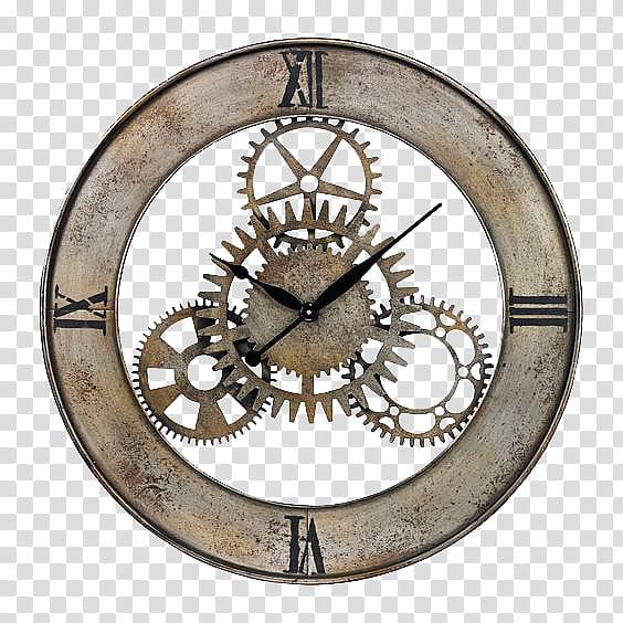 Clocks s brown analog. Steampunk clipart cool clock
