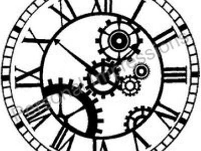 Free download clip art. Steampunk clipart cool clock
