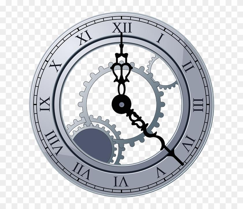 Steampunk clipart cool clock. Setting gear hd png