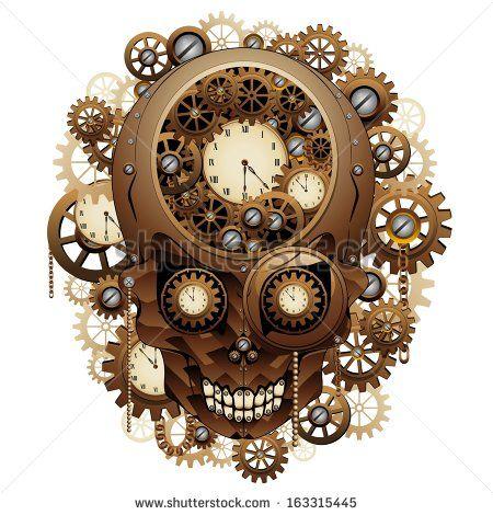 Clocks yahoo image search. Steampunk clipart cool clock