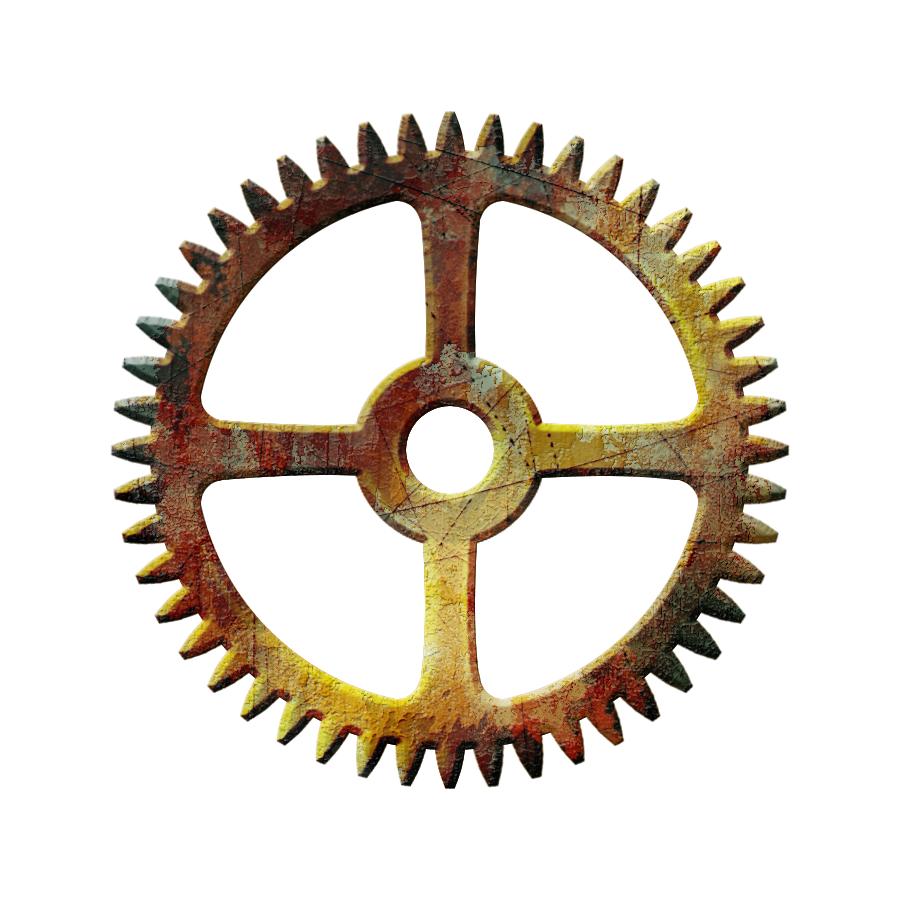 Gear png images transparent. Steampunk clipart copyright free