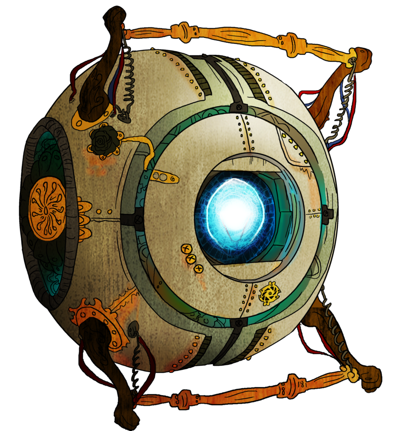Steampunk clipart fancy. Wheatley by homemade happiness