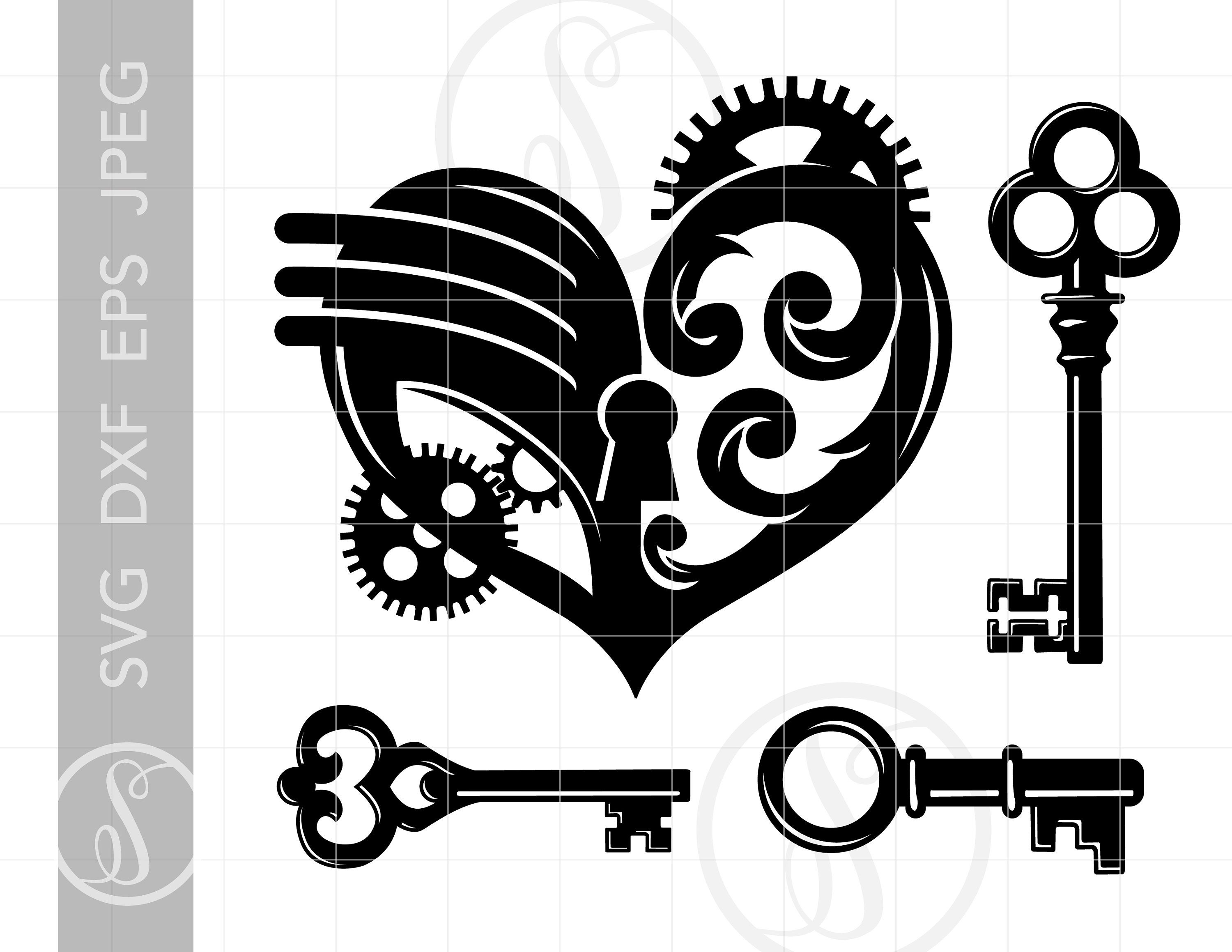 Pin on svg cut. Steampunk clipart file