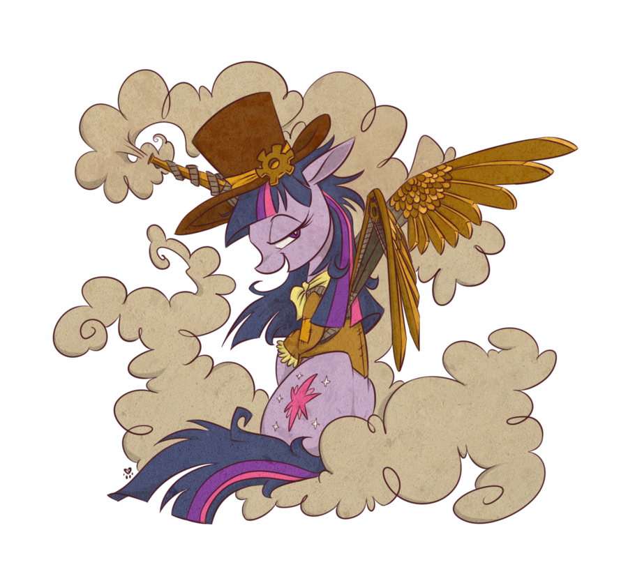My little pony by. Steampunk clipart flight wing