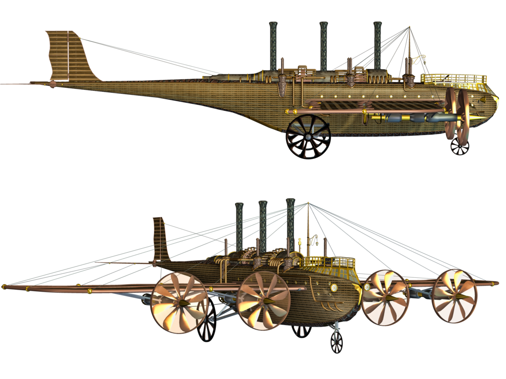 Steampunk clipart flying machine. Breeohare bree deviantart journal