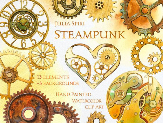 Metal cliparts download clip. Steampunk clipart free printable