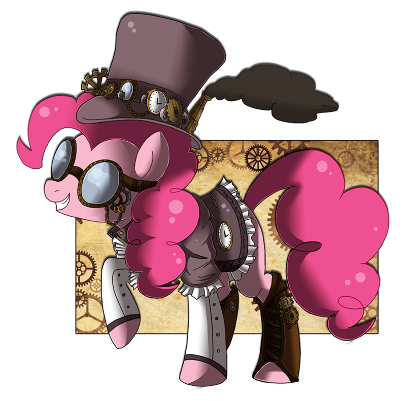 Steampink my little brony. Steampunk clipart goggle