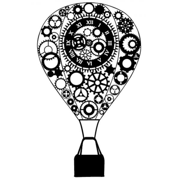 Steampunk clipart hot air balloon. Free on dumielauxepices net