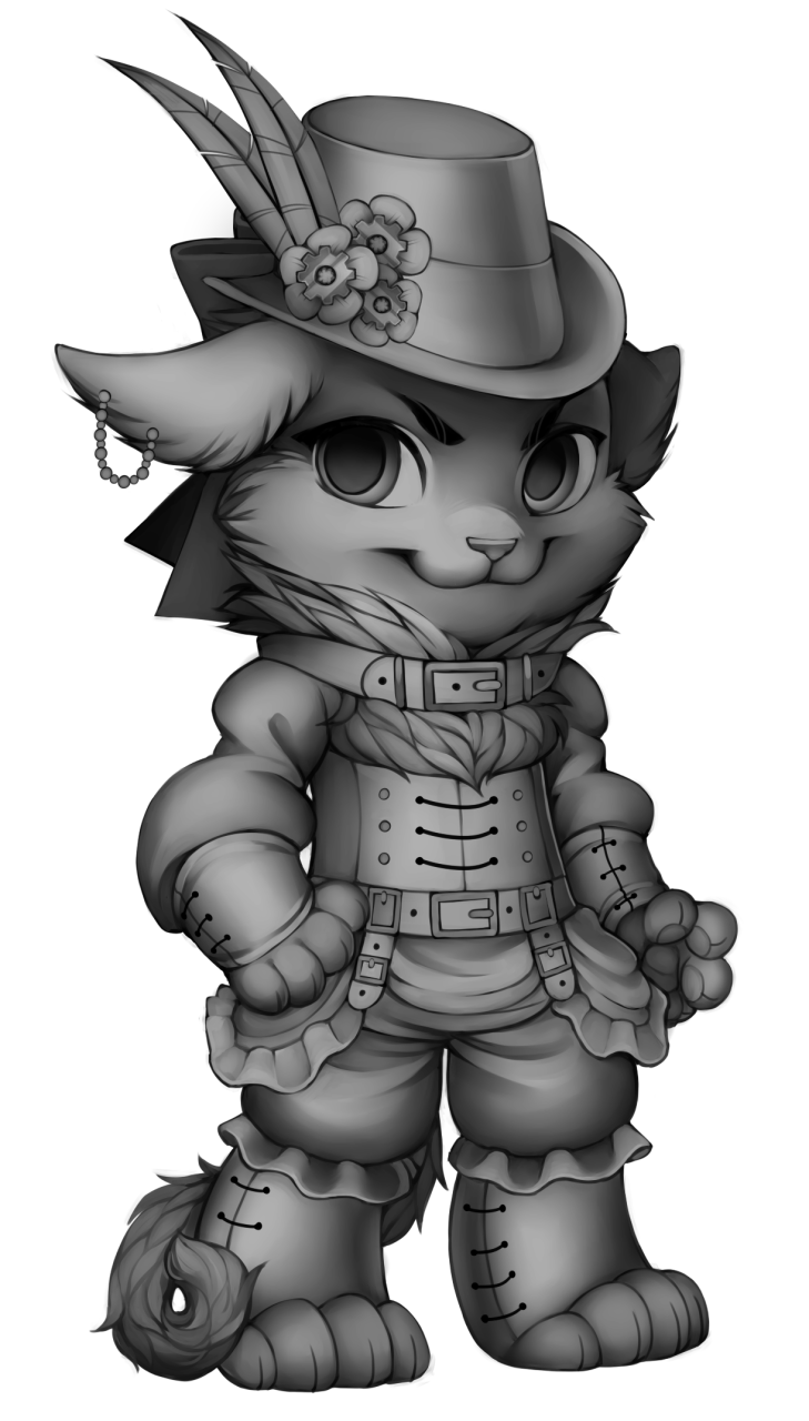 Image cat base png. Steampunk clipart invention discovery