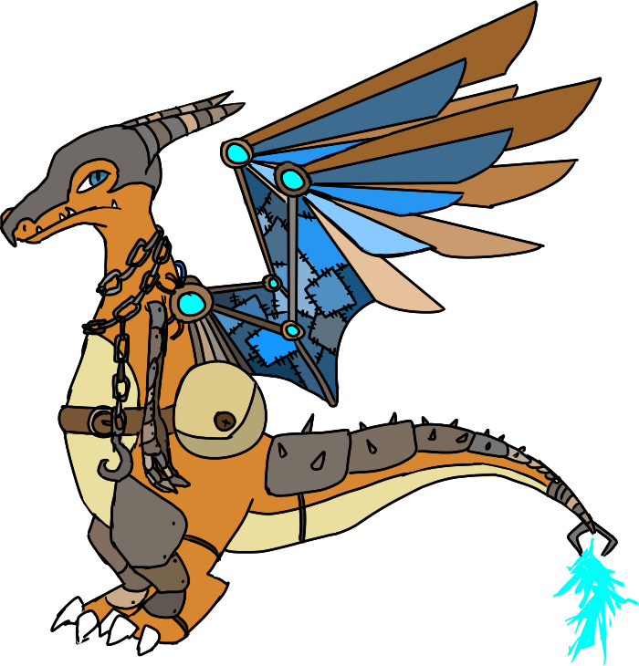 Charizard by maddytheskymin on. Steampunk clipart military wing