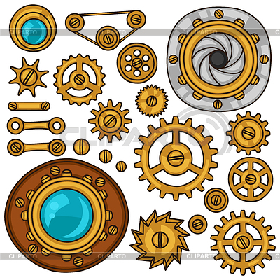 Steampunk clipart nut bolt. Screws stock photos and