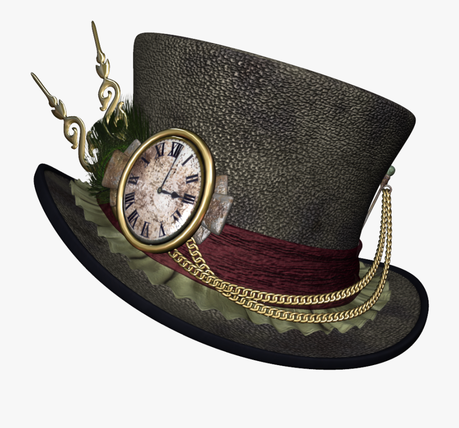 Steampunk clipart old fashioned. Finger point hat png