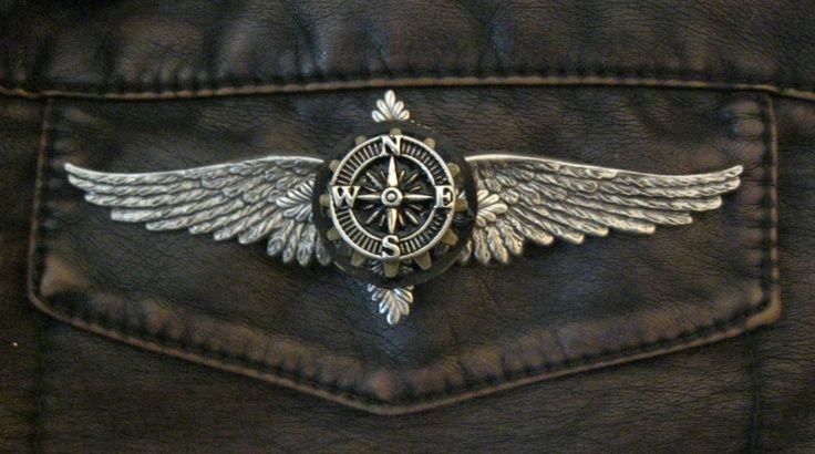 Steampunk clipart pilot wing. Tattoo google zoeken jbokdx