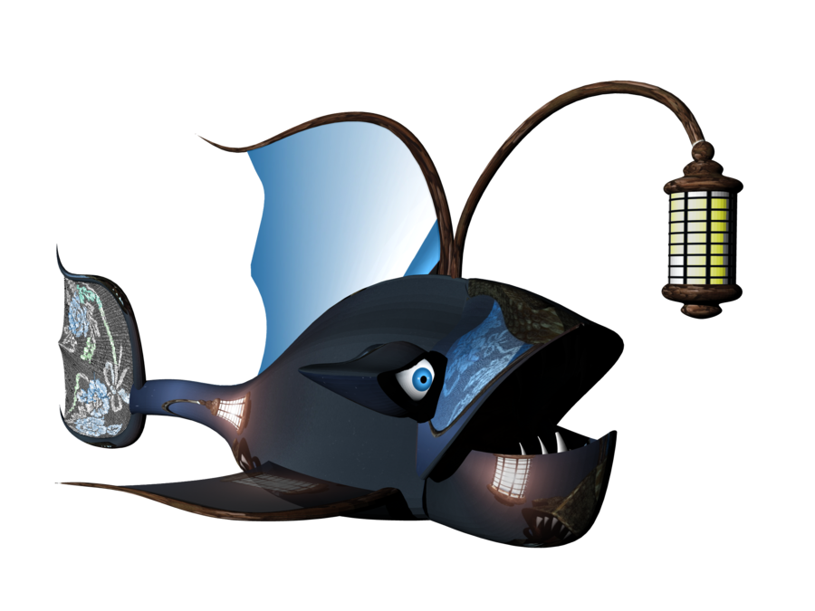 Steampunk clipart plane. Fish by mysticmorning on