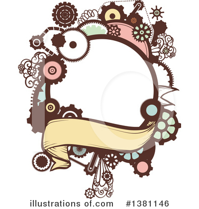 Illustration by bnp design. Steampunk clipart royalty free