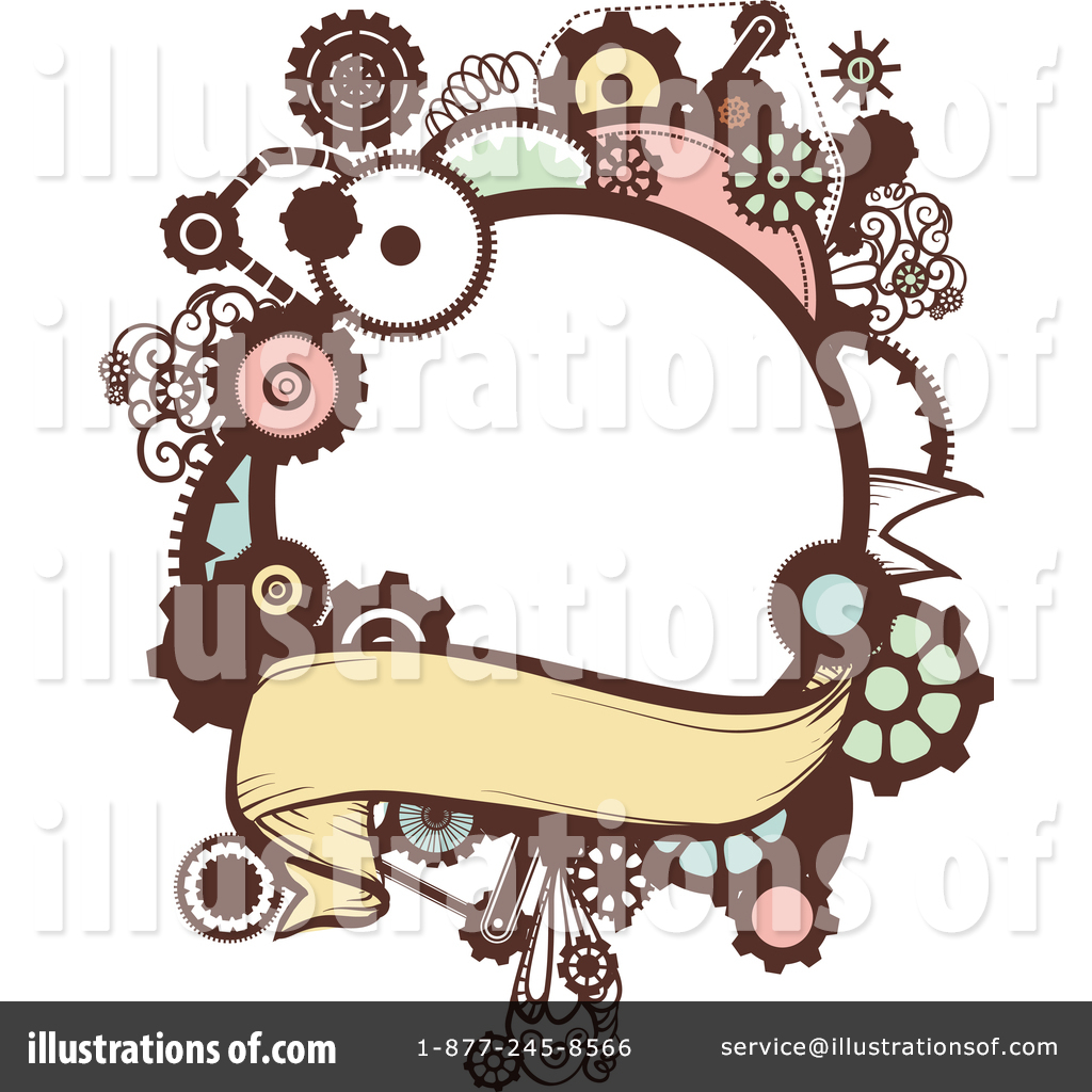Steampunk clipart royalty free. Illustration by bnp design