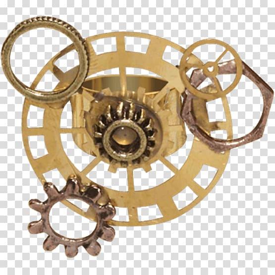 Steampunk clipart steam punk. Victorian era necklace ring