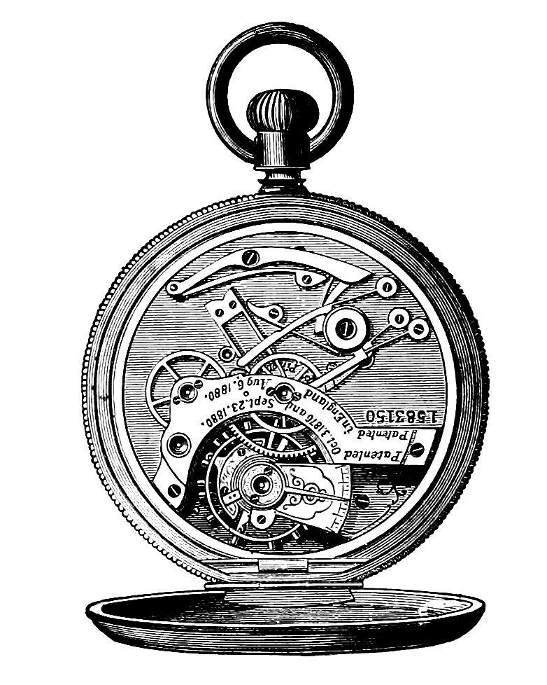 Clip art watch watches. Steampunk clipart steam punk