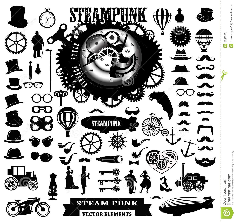 Steampunk clipart steam punk.  clip art clipartlook