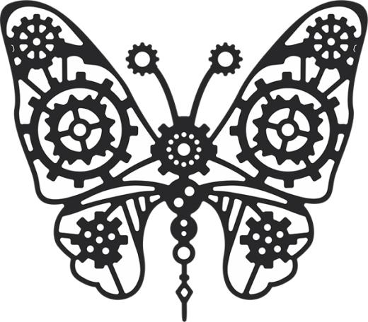 Free gear cliparts download. Steampunk clipart steampunk butterfly