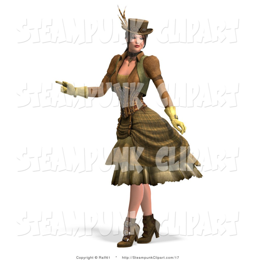 Frames illustrations hd . Steampunk clipart steampunk girl