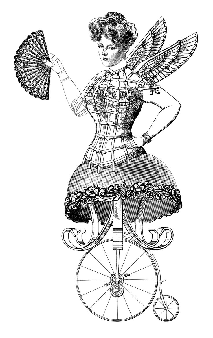 Steampunk clipart victorian steampunk. Transparent png free