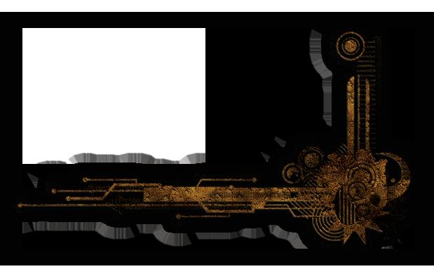 Steampunk frame png. Oliver ink aetherial conservator