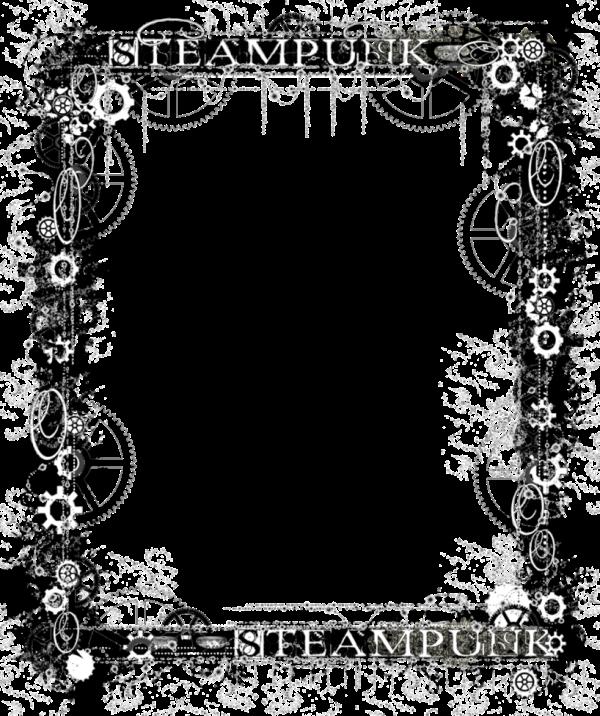 Vector illustrations picture steampunkvectorillustrationspng. Steampunk frame png