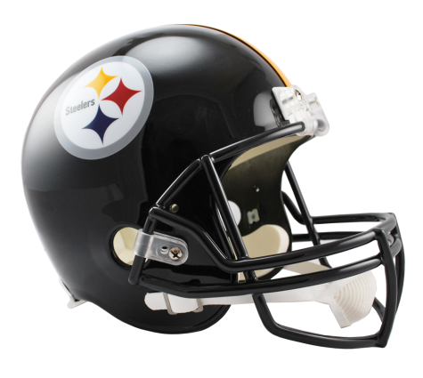 Pittsburgh vsr replica . Steelers helmet png