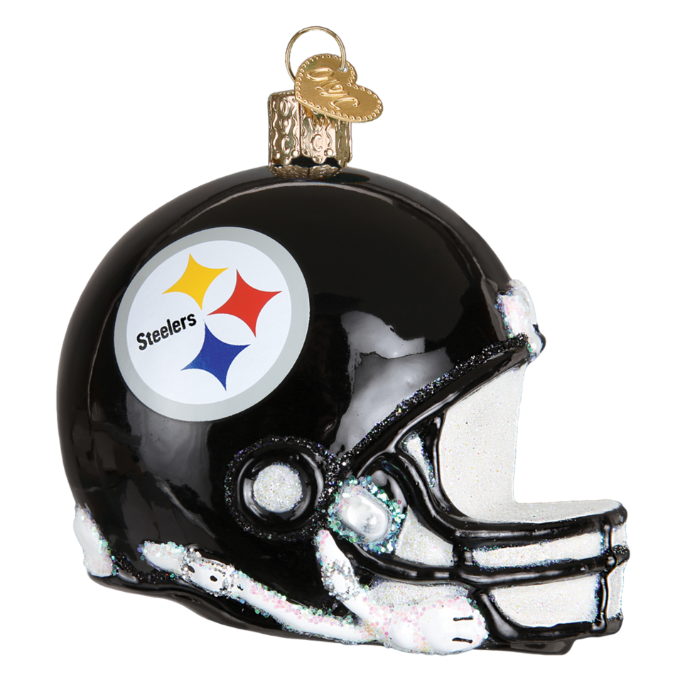 Steelers helmet png. Pittsburgh old world christmas