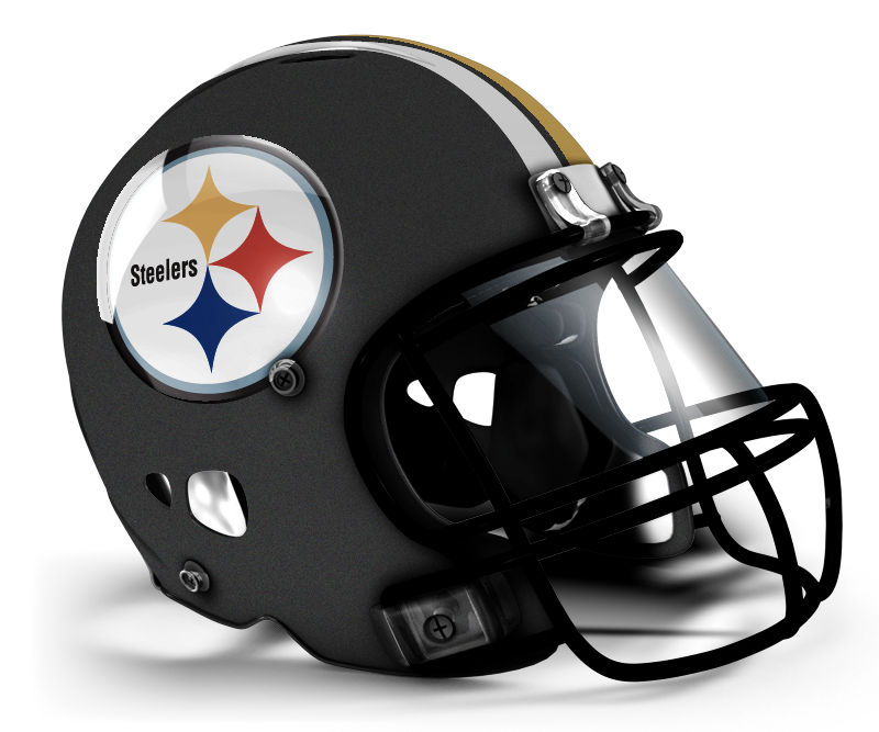 Concepts chris creamer s. Steelers helmet png