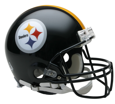 Steelers helmet png. Pittsburgh vsr authentic