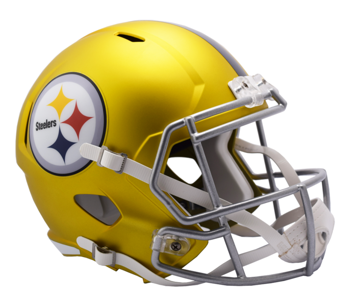 Pittsburgh replica blaze alternate. Steelers helmet png