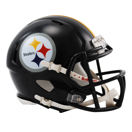 Steelers helmet png. Pittsburgh replica mini speed