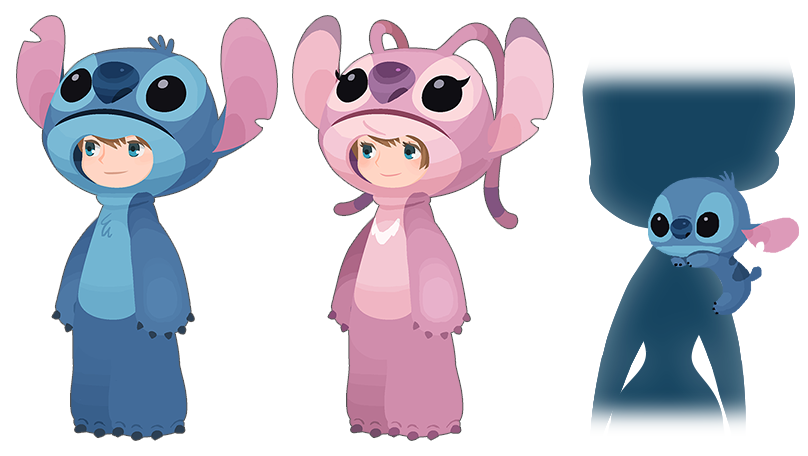 Stitch clipart angel. Luxen vulpies jp avatar