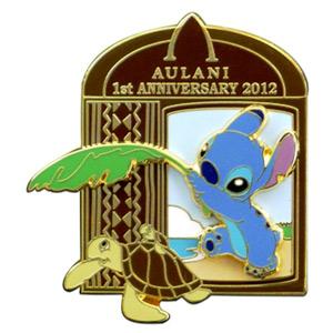 Stitch clipart aulani disney. Walt pins trading value