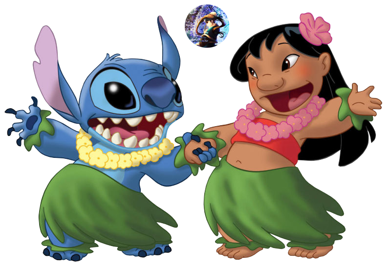 Stitch clipart aulani disney. Lilo and render by