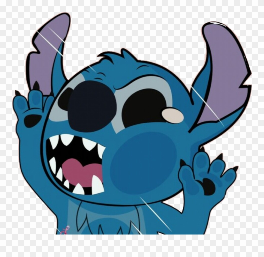 Cute ohana . Stitch clipart blue