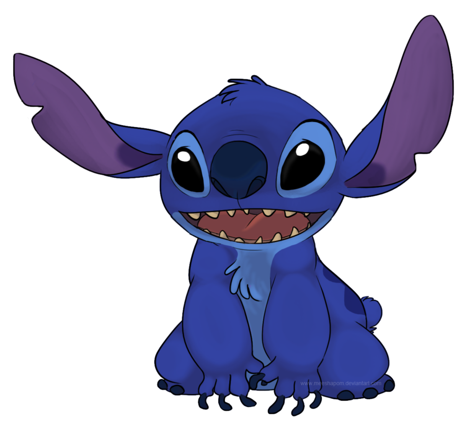 Stitch clipart blue. Png free download mart