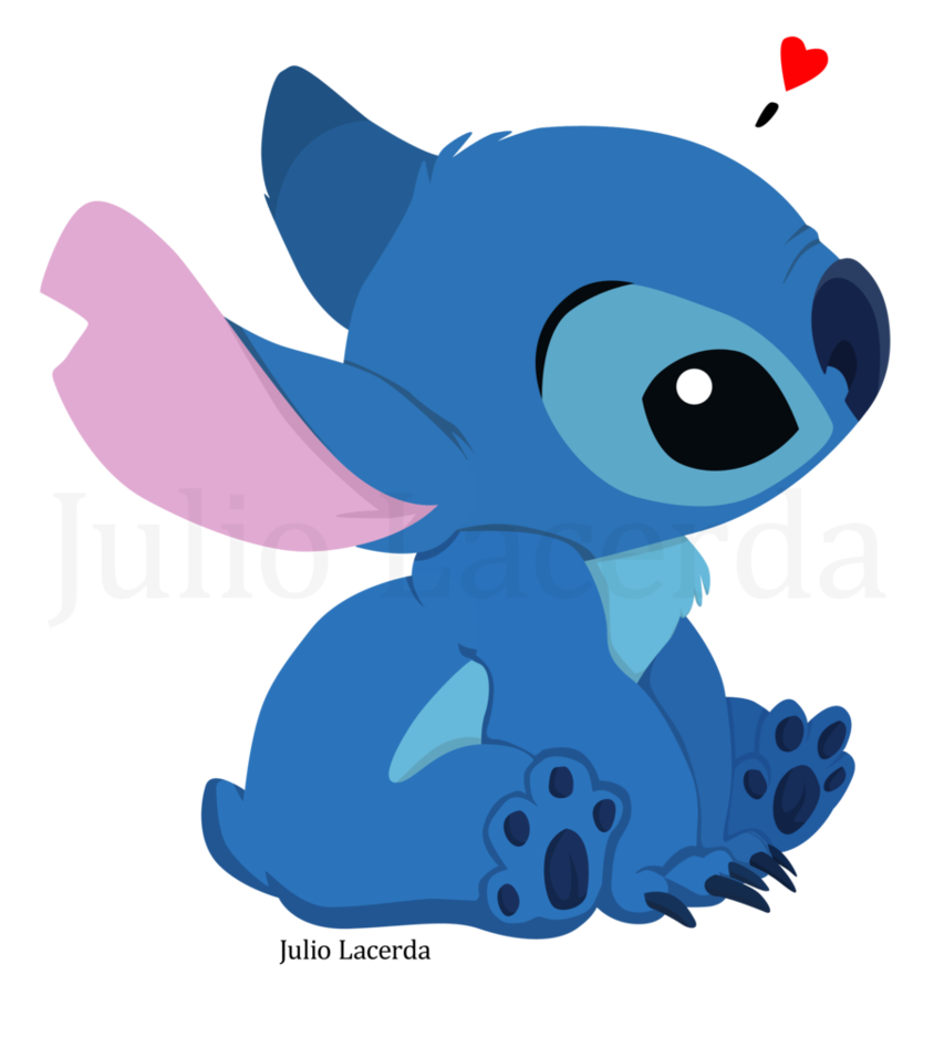 By julio lacerda on. Stitch clipart cutie