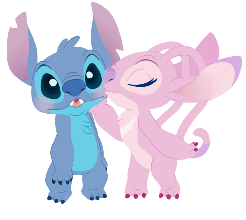 Stitch clipart cutie. Angel and by decapitated