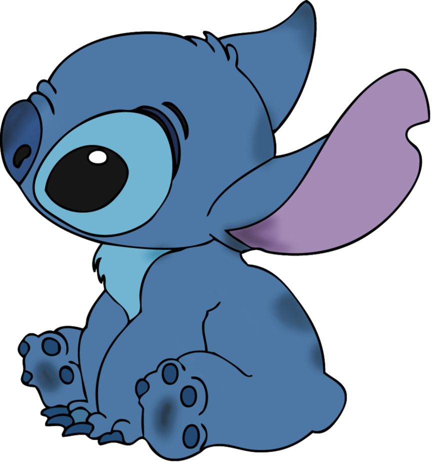 Line art colorized by. Stitch clipart cutie