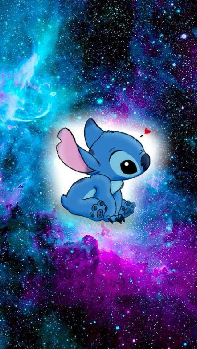 . Stitch clipart galaxy