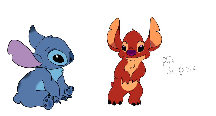 Sketches by dreamsinthenight on. Stitch clipart leroy