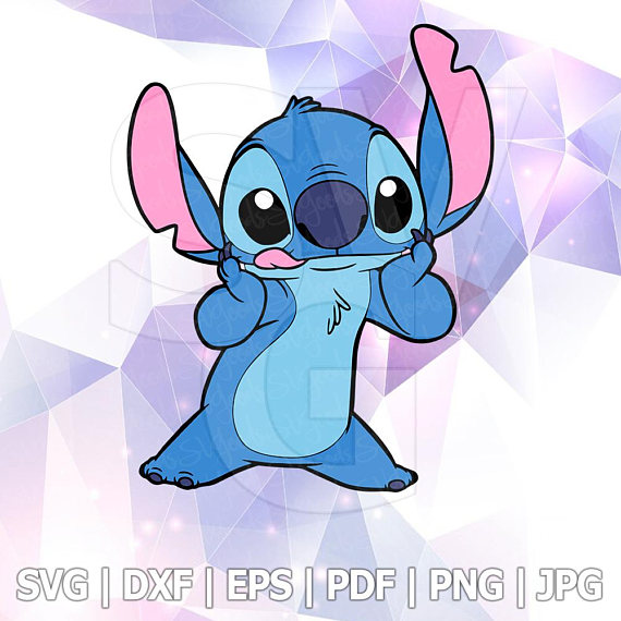 Stitch clipart pdf. Lilo and svg file