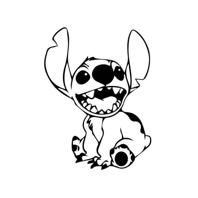 Lilo and disney graphics. Stitch clipart pdf
