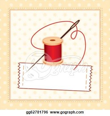Stitch clipart quilting border. Clip art sewing label